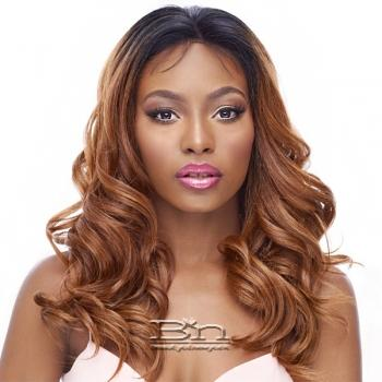 It's a Wig 100% Human Hair Blend 360 Circular Frontal Lace Wig - LACE DEEP OCEAN (360 all round deep lace wig)
