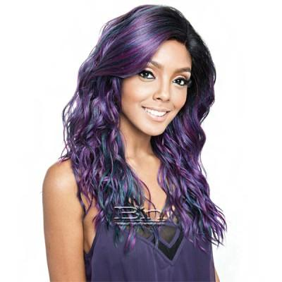 Isis Brown Sugar Human Hair Blend Frontal Lace Front Wig - BSF08 (13x4 Lace Closure Wig)