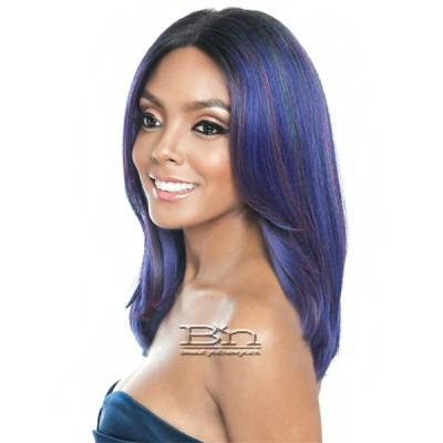 Isis Brown Sugar Human Hair Blend Frontal Lace Front Wig - BSF09 (13x4 Lace Closure Wig)