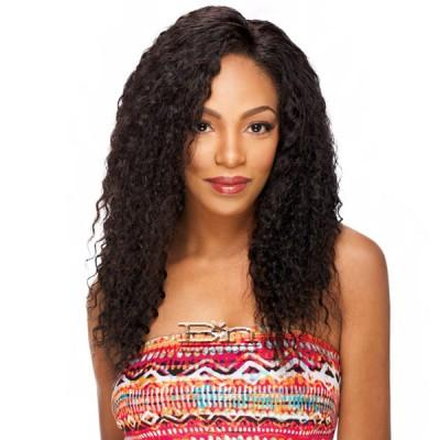 Sensual 100% Virgin Remi Natural Human Hair Whole Lace Wig - JERRY CURL 20-22