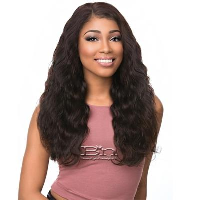 Sensationnel 100% Virgin Remi Bare & Natural Lace Frontal + Bundle Deal - BODY WAVE 14,16,18 (Full 13x4.5 Ear To Ear Lace Frontal Closure With Bundles)