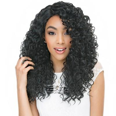 Janet Collection Human Hair Blend Brazilian Scent Lace Front Wig - RAIN