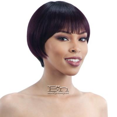 Milky Way Saga 100% Remy Human Hair Wig - FLAME