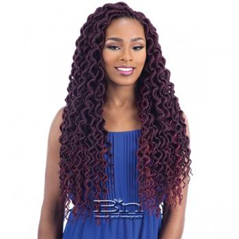 Freetress Synthetic Braid - 2X PLUMPY CURLY FAUX LOC 20