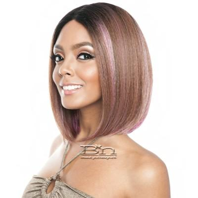 Isis Brown Sugar Human Hair Blend Full Wig - BS131 (deep middle lace part)