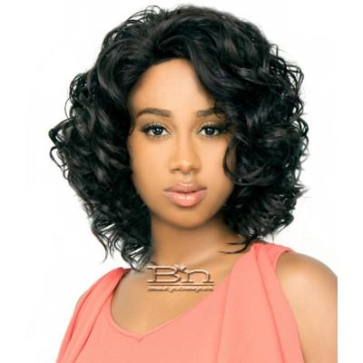The Wig Brazilian Human Hair Blend Lace Front Wig - LH CANDI