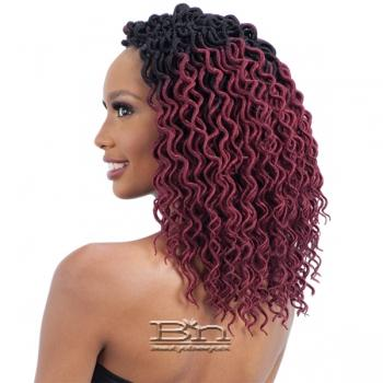Freetress Synthetic Braid - CURLY FAUX LOC SMALL