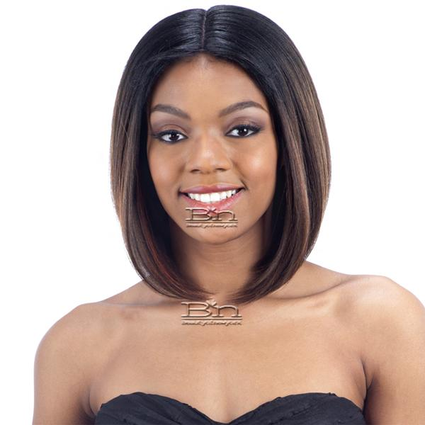 Model Model Synthetic Hair Lace Part Wig - LIVIA (6 inch deep lace center part)