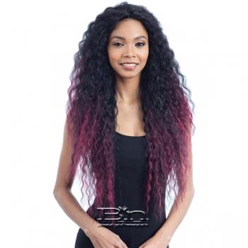 Model Model Artist Human Hair Blend Lace Front Wig - AT 213