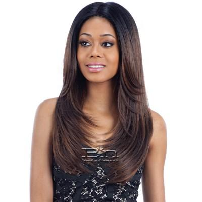 Freetress Equal Synthetic Hair 6 Inch Lace Part Wig - MAC