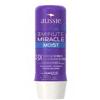 Aussie Moist 3 Minute Miracle Deep Treatment 8oz (3pcs)