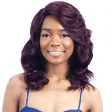 Freetress Equal Synthetic Hair Lace Deep Invisible L Part Lace Front Wig - WINK BLOSSOM