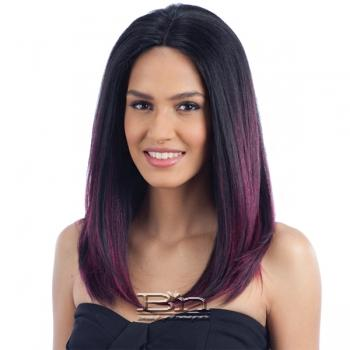 Model Model Artist Human Hair Blend Lace Front Wig - AT 214
