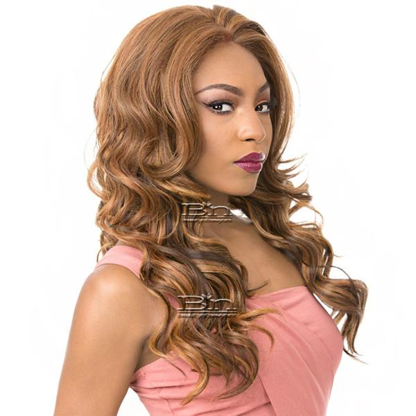 It's a Wig 100% Human Hair Blend 360 Circular Frontal Lace Wig - LACE TARUMI (360 all round deep lace wig)
