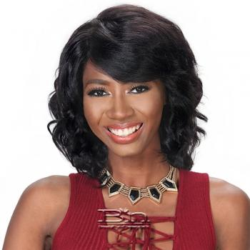 Zury Sis 100% Human Hair C Part Lace Front Wig - HRH SWISS LACE AMY