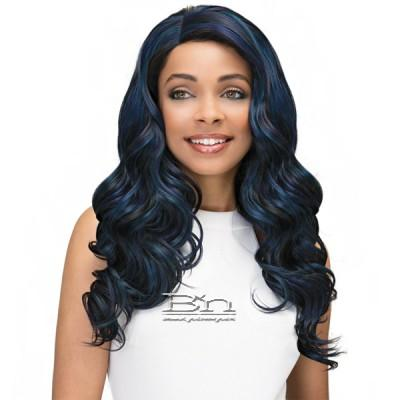 Janet Collection Princess Human Hair Blend Lace Wig - CHLOE (13x4 Lace Frontal Closure Wig)