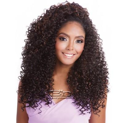 Isis Brown Sugar Human Hair Blend Perfect Edge Half Wig - PERFECT EDGE 08