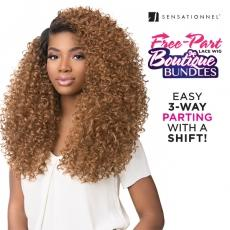 Sensationnel Synthetic Hair Empress 3 Way Free Part Lace Wig - BOUTIQUE TWIST (futura)
