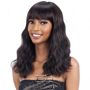 Naked 100% Unprocessed Brazilian Virgin Hair Wig - S WAVE (M)