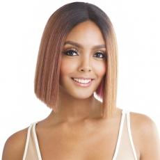 Isis Brown Sugar Human Hair Blend Soft Swiss Lace Wig - BS282