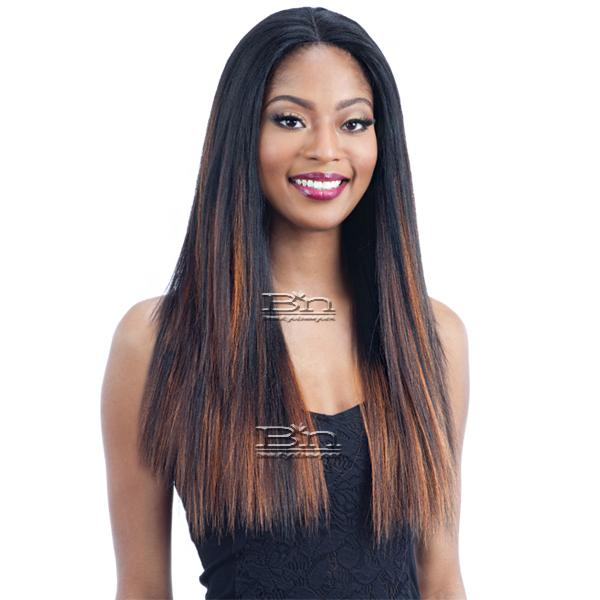 Milky Way Human Hair Master Mix Lace Front Wig - HARMONY 114
