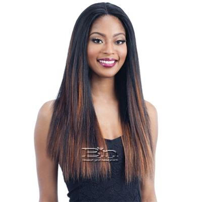 Milky Way Human Hair Blend Lace Front Wig - HARMONY 114