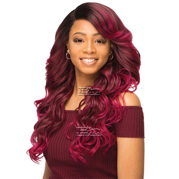 WIGO Collection Synthetic Hair Extreme Side Deep Natural Plucked Lace Front Wig - LACE VIOLA (Ear-to-Ear Elastic Band Wig)
