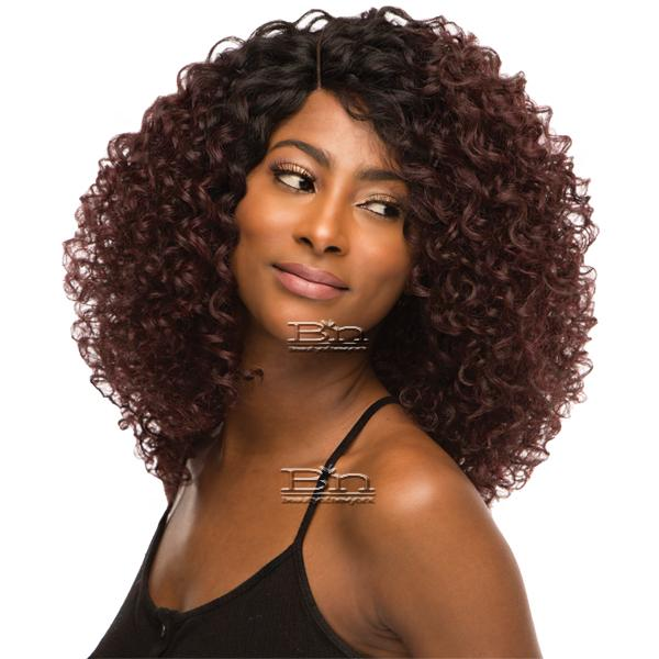 WIGO Collection Synthetic Hair Extreme Side Deep Natural Plucked Lace Front Wig - LACE EVELYN (Ear-to-Ear Elastic Band Wig)
