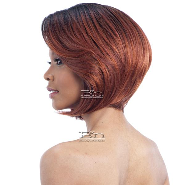 Model Model Artist Human Hair Blend Lace Front Wig - AT 211