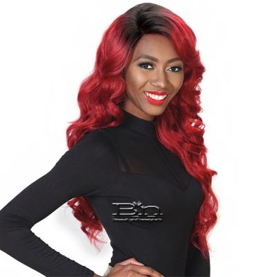 Zury Sis Glam Synthetic Hair Lace Front Wig - GLAM LACE H DELUX