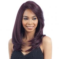 Model Model Synthetic Hair Lace Deep Invisible L Part Lace Front Wig - SHINE MEADOW