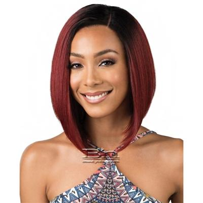 Bobbi Boss Synthetic Swiss Lace Front Wig - MLF195 SASHA (4 inch deep part)