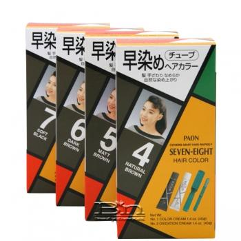 Paon Seven Eight Permanent Hair Color With Brush