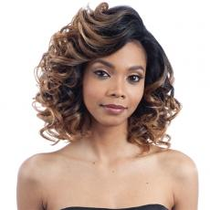 Model Model Artist Human Hair Blend Lace Front Wig - AT 212