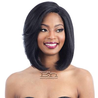 Freetress Equal Synthetic Hair Lace Deep Invisible L Part Lace Front Wig - HAYMI