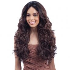 Model Model Synthetic Hair U Curve Lace Front Wig - SHAKIRA (5 X 4 Parting Versatility)