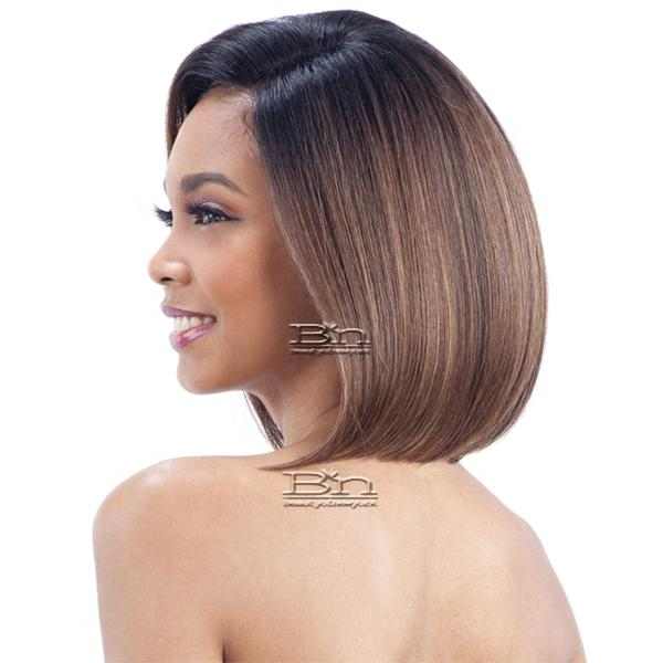 Model Model Artist Human Hair Blend Lace Front Wig - AT 216