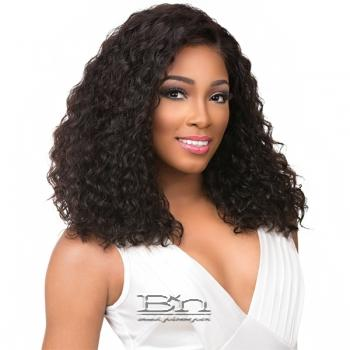 Sensationnel 100% Brazilian Virgin Remi Bare & Natural 4x4 Swiss Lace Wig - DEEP CURLY