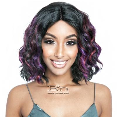 Isis Brown Sugar Human Hair Blend Full Wig - BS127 (deep middle lace part)