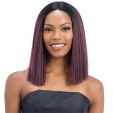 Model Model Synthetic Hair Deep Invisible Part Wig - JEWEL