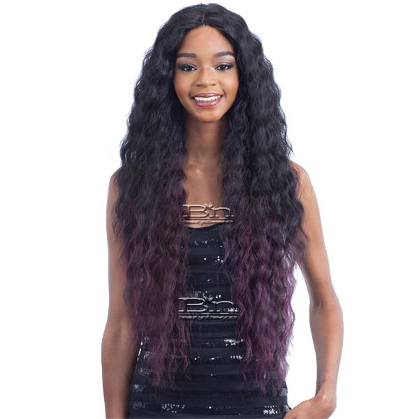 Model Model Synthetic Hair Premium Seven Star V Shaped Lace Front Wig - EV 002