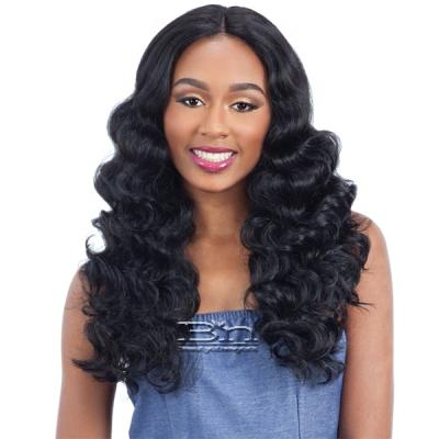 Milky Way Human Hair Blend Lace Front Wig - HARMONY 116
