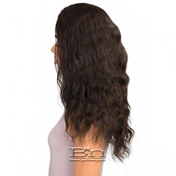 Janet Collection 100% Natural Virgin Remy Human Hair 360 Circular Frontal Lace Wig - 360 LACE FRENCH WAVE WIG 18
