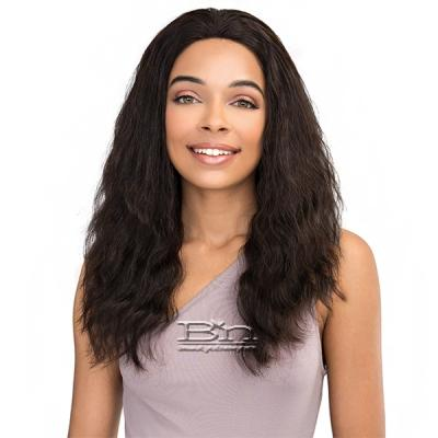 Janet Collection 100% Natural Virgin Remy Human Hair 360 Circular Frontal Lace Wig - 360 LACE FRENCH WAVE WIG 20