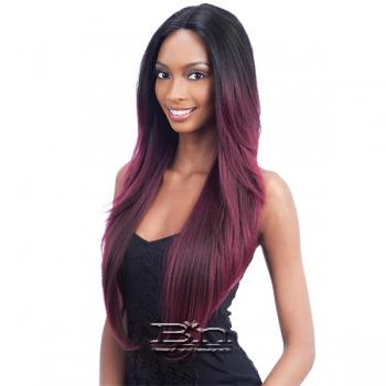Model Model Synthetic Hair Premium Seven Star V Shaped Lace Front Wig - EV 003