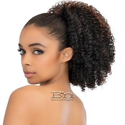 Janet Collection Noir Everytime Synthetic Ponyail - AFRO STYLISH STRING