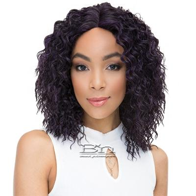 Janet Collection Human Hair Blend Brazilian Scent Lace Front Wig - ISABEL