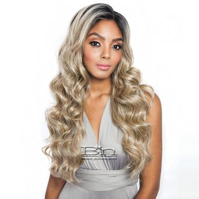 Isis Melanin Queen Human Hair Blend Frontal Lace - MLF03 LOOSE WAVE 24 (13x4 free parting)