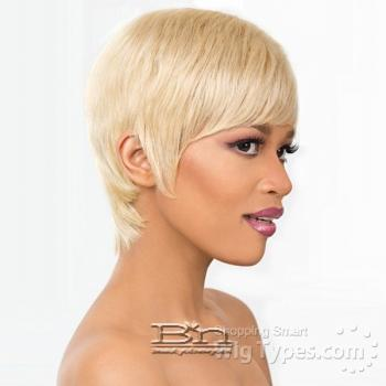 It's a Cap Weave 100% Human Hair Wig - MON AMI