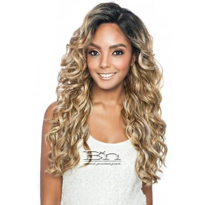 Isis Melanin Queen Human Hair Blend Frontal Lace - MLF05 OCEAN BODY 30 (13x4 free parting)